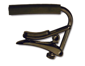 SHUBB Standard Capo - Black Chrome Finish