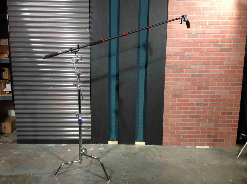 4 Section Carbon Fiber Microphone Boom Pole for Film & Broadcast