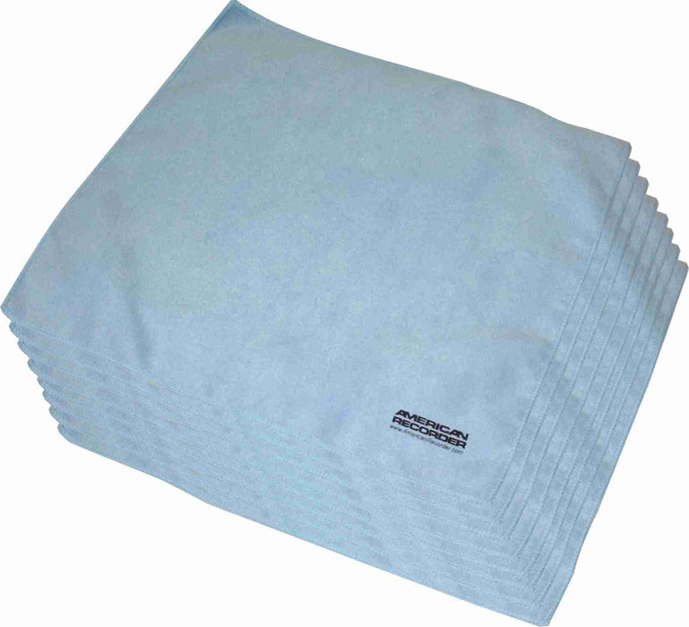 "11"" x 12"" Large Size Micro Fiber Cleaning Cloths - AMERICAN RECORDER TECHNOLOGIES, INC. - 2"