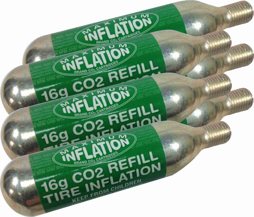 16 gram CO2 Cartridges for Gas Tire Inflator