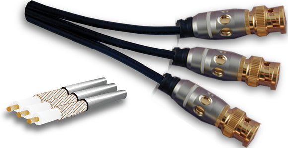 POP Series BNC  Component Video - Triple - AMERICAN RECORDER TECHNOLOGIES, INC.