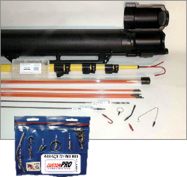 Deluxe Fiber Rod Pull Kit - AMERICAN RECORDER TECHNOLOGIES, INC.