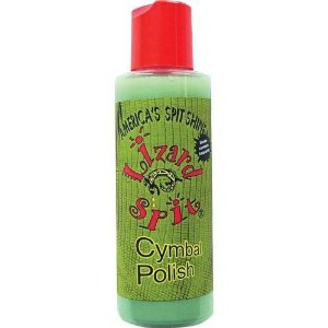 Lizard Spit Cymbal Polish for Raw Brass Cymbals