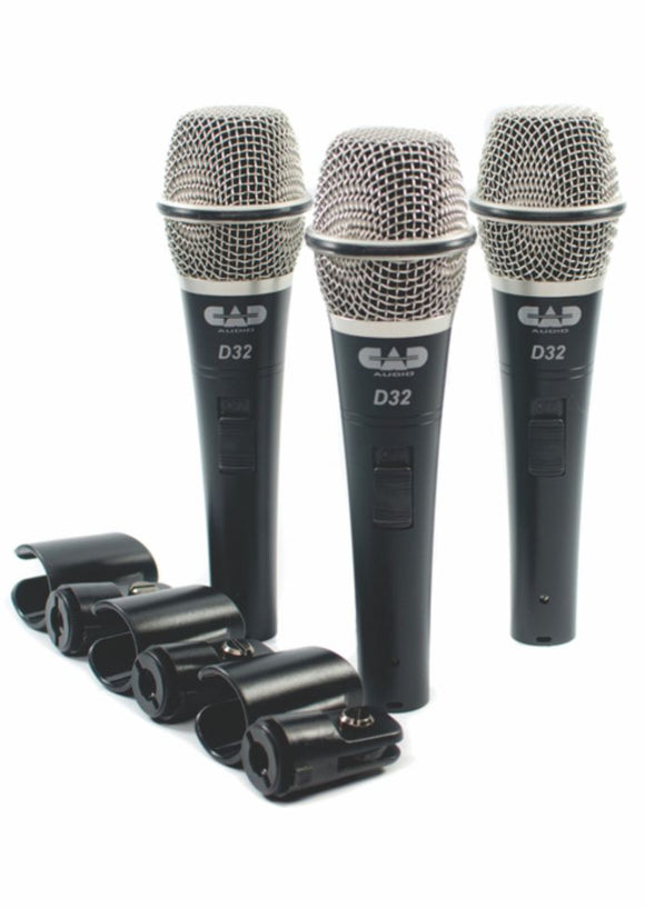 3 Pack Dynamic Microphone