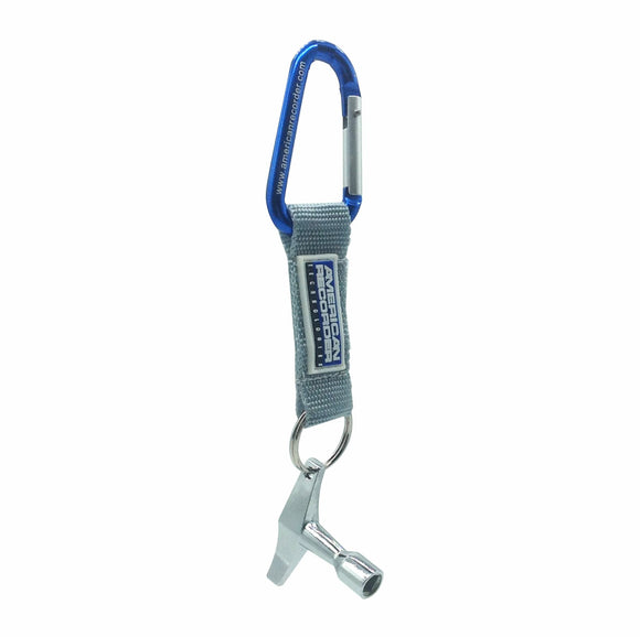 Drum Key & Carabiner - AMERICAN RECORDER TECHNOLOGIES, INC.