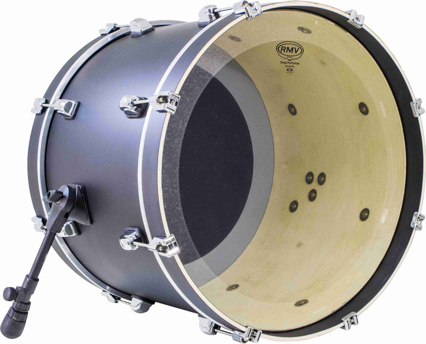 RMV Dual-Layer Deep Performer Drum Head - 18""