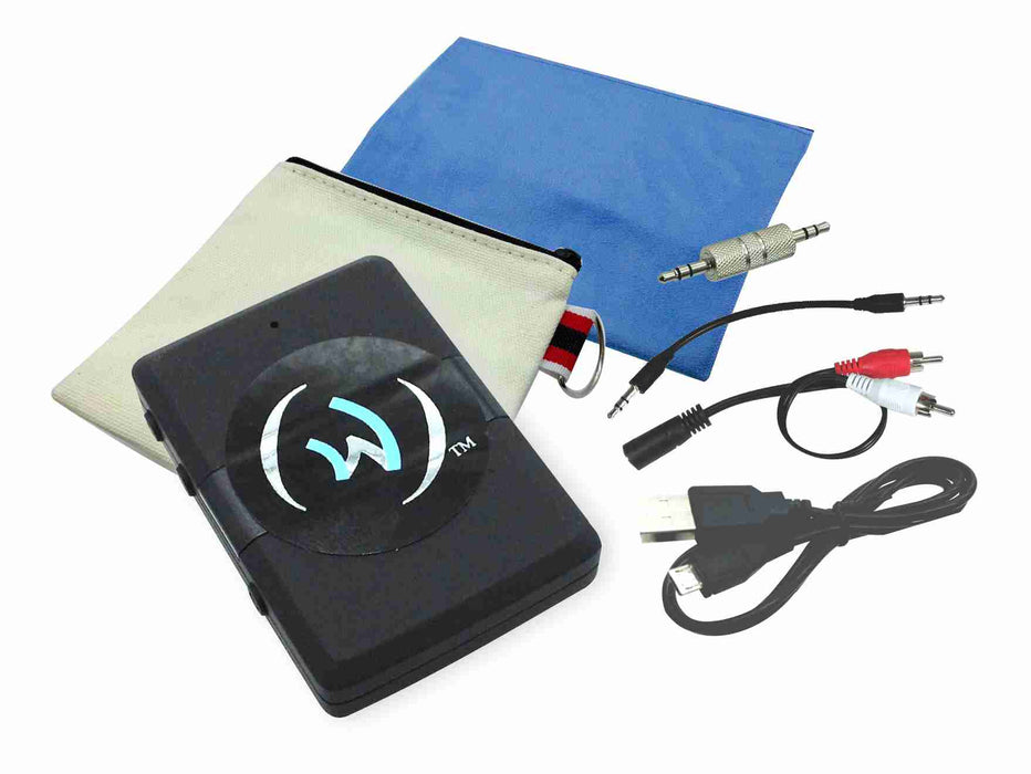E-Clip™ Air Wireless Transmitter/Receiver Travel Kit