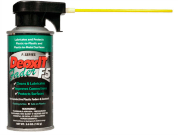 DeoxIT Fader F-Series Spray, 5% Solution, 142g
