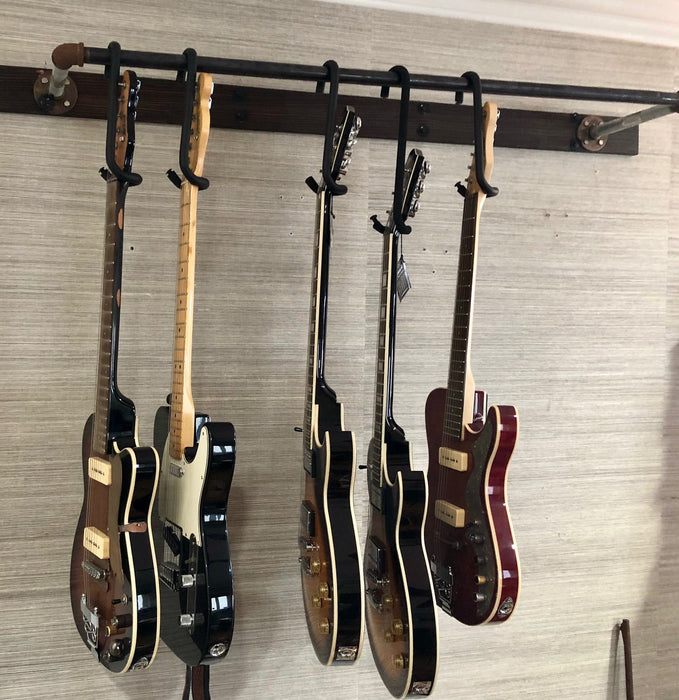 Guitar Bar on wall