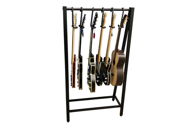Guitar Bar on floor rack