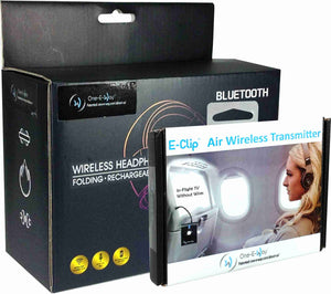 E-Clip™ Series Headphone/Transmitter Bundle