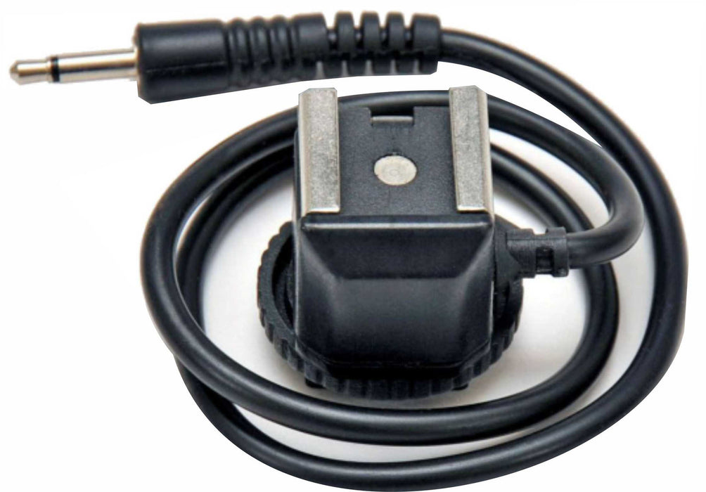 "Zumm Photo Hot Shoe with 16"" cord and Mono Miniplug 1/8"" (3.5mm)"