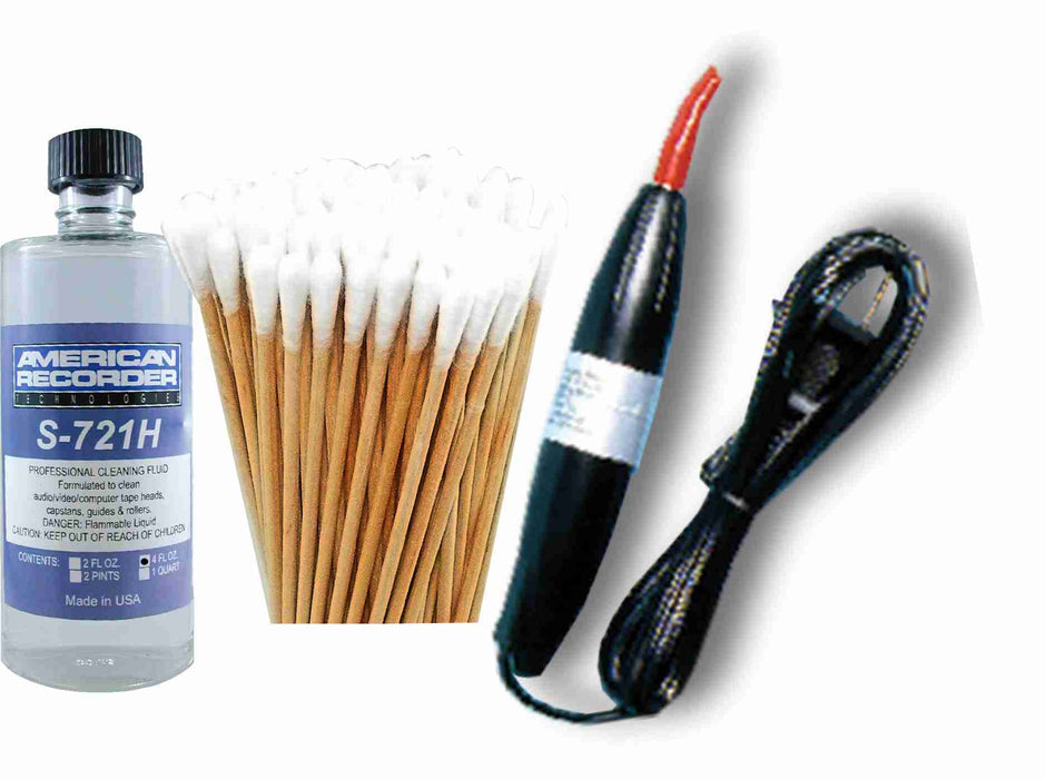 Tape Recorder Cleaning Kit - AMERICAN RECORDER TECHNOLOGIES, INC.