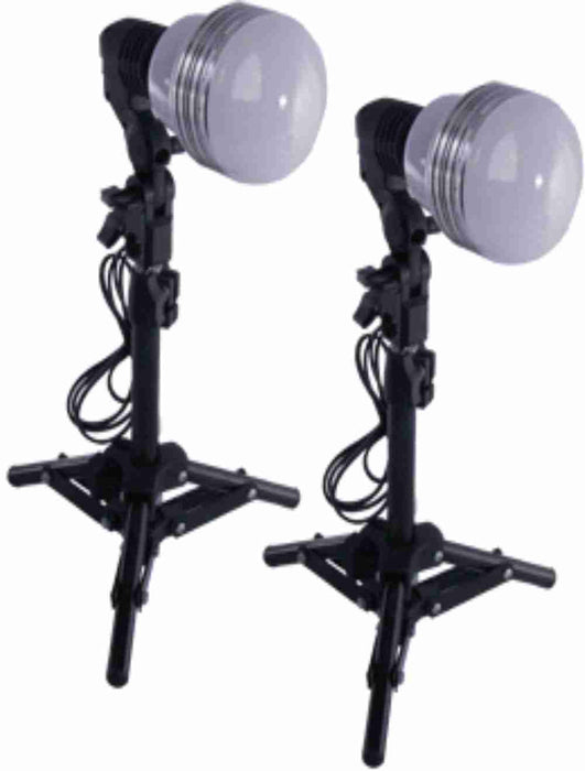 "Zumm Photo Deluxe Economical 35W LED, 2 16"" Stands, 2 Socket Mini Kit"