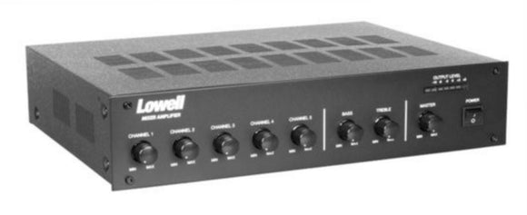 125 Watt Mixer Amplifier