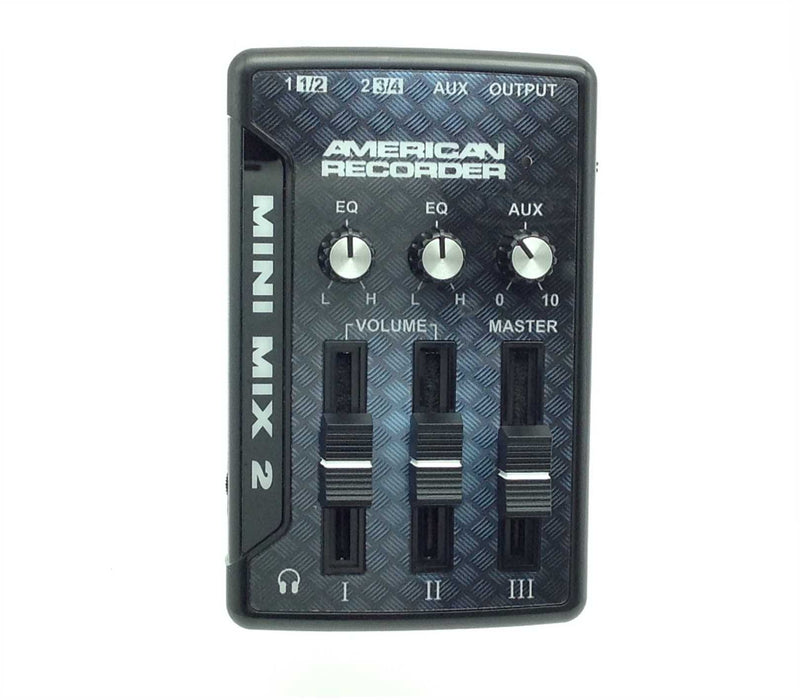 AMERICAN RECORDER Audio Mixer with USB Interface