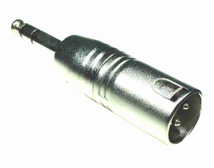 XLR (male) to TRS (male) - balanced - AMERICAN RECORDER TECHNOLOGIES, INC.
