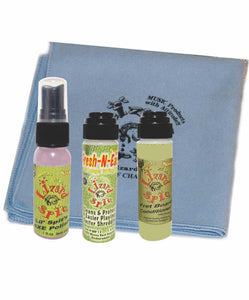 Lizard Spit Deluxe Cleaning & Polishing Combo Spit Kit for Guitar & Bass