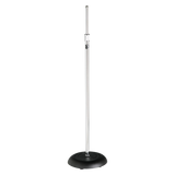 All Purpose Round Base Microphone Stand - AMERICAN RECORDER TECHNOLOGIES, INC. - 1