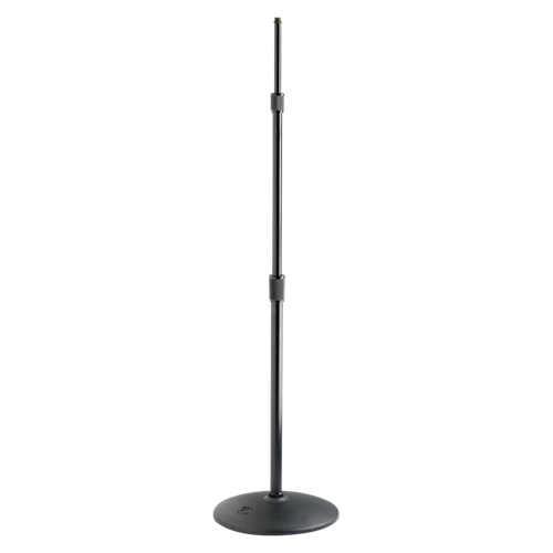 Fully Adjustable 3 Section Microphone Stand, Ebony - AMERICAN RECORDER TECHNOLOGIES, INC. - 1