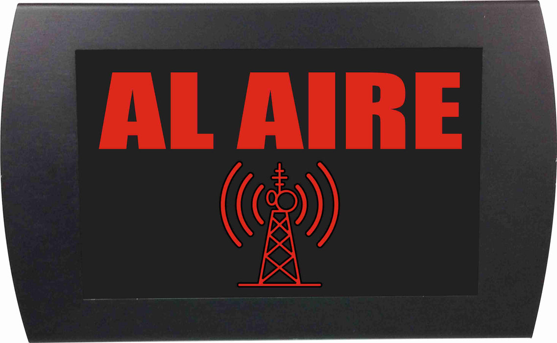 "AMERICAN RECORDER - ""AL AIRE"" LED Lighted Sign"
