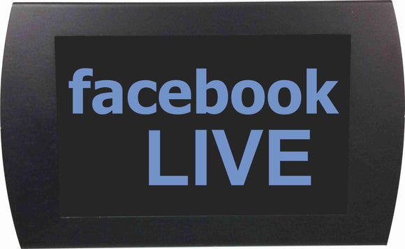 FACEBOOK LIVE - LED Indicator Sign