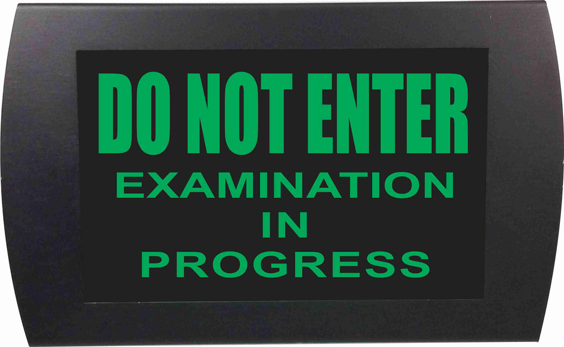 "AMERICAN RECORDER - ""Do Not Enter Examination in Progress"" LED Lighted Sign"