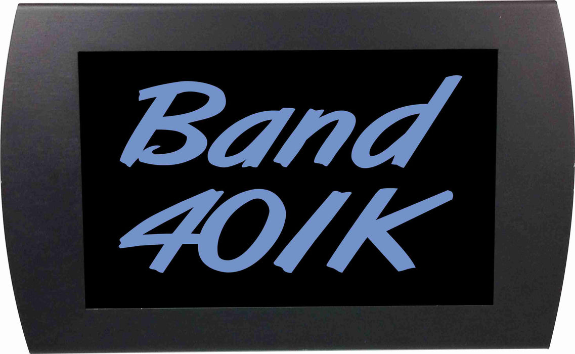 "AMERICAN RECORDER - ""Band 401K"" LED Lighted Sign with Pole Clamp Kit"