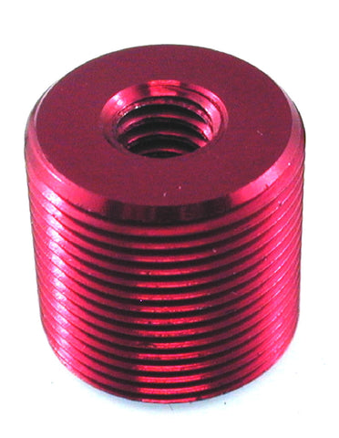 "5/8"" -27(male) & 1/4"" -20 (female) x .60"" Thread Adapter - AMERICAN RECORDER TECHNOLOGIES, INC."
