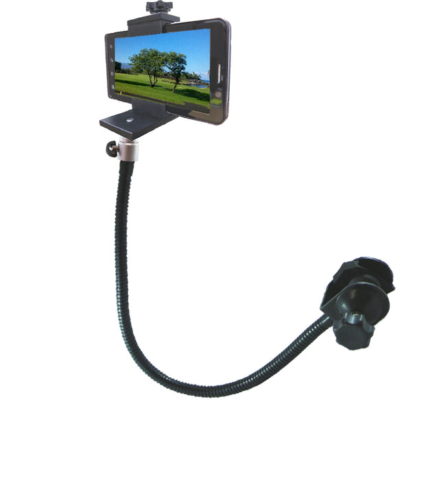"SMART BRACKET 18"" Pole Mount Gooseneck With 1/4"" -20 Ball Mount"