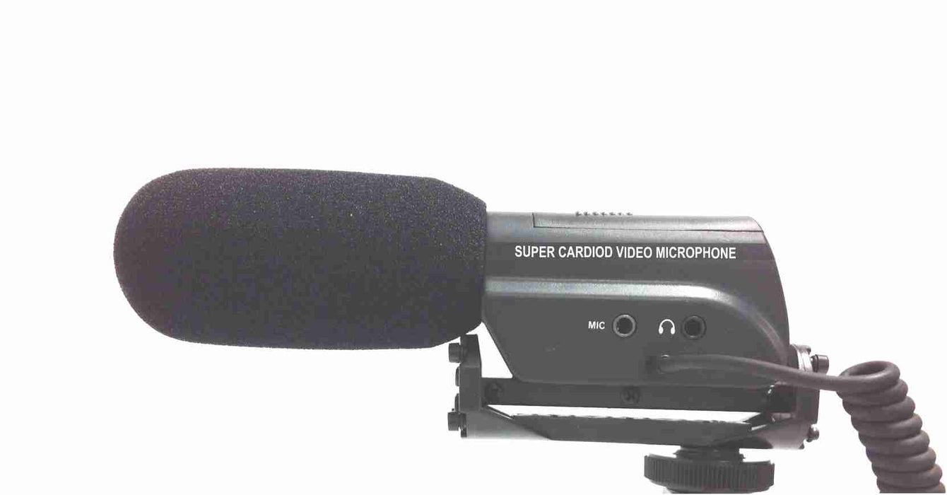 Mini Shotgun Microphone with Shockmount for DSLR Camera - AMERICAN RECORDER TECHNOLOGIES, INC. - 2