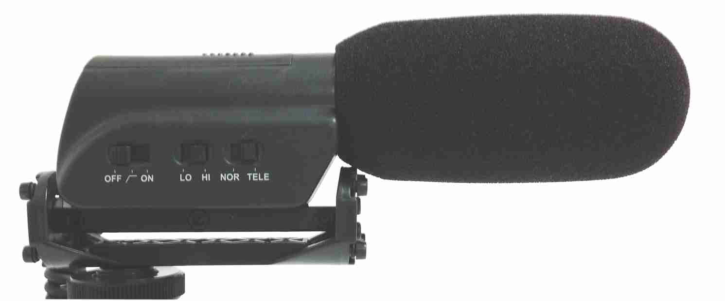 Mini Shotgun Microphone with Shockmount for DSLR Camera - AMERICAN RECORDER TECHNOLOGIES, INC. - 3