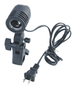 Single AC Socket Receptacle with Umbrella Holder for LED