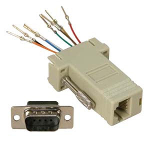DB9 to RJ45 Adapters - AMERICAN RECORDER TECHNOLOGIES, INC. - 1