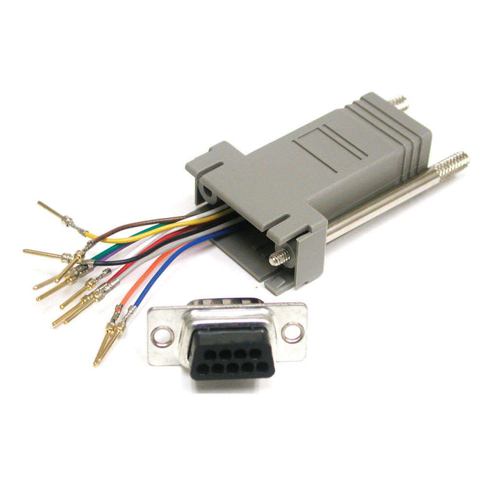 DB9 to RJ45 Adapters - AMERICAN RECORDER TECHNOLOGIES, INC. - 2