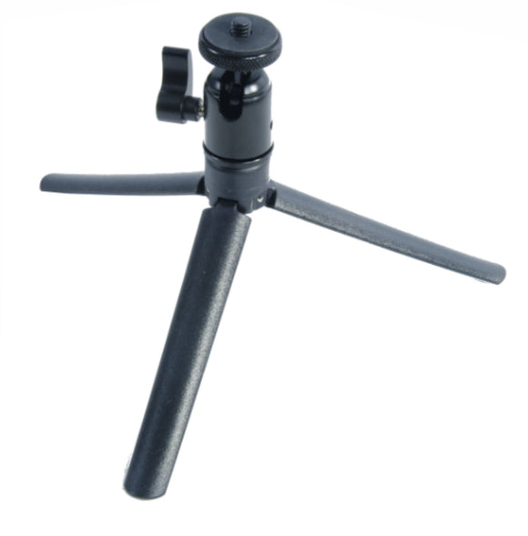 Folding ABS Tripod Base/Handle w/Metal Ball Head