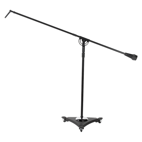 Studio Boom Mic Stands With Air Suspension System 49 inch to 73 inch - Ebony - AMERICAN RECORDER TECHNOLOGIES, INC. - 1