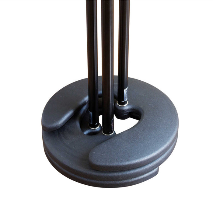 PEAK MUSIC STANDS Iron horse Stackable Round Base Microphone Stand