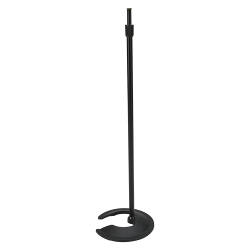 Stackable Mic Stand with 10 inch Round Base - AMERICAN RECORDER TECHNOLOGIES, INC.