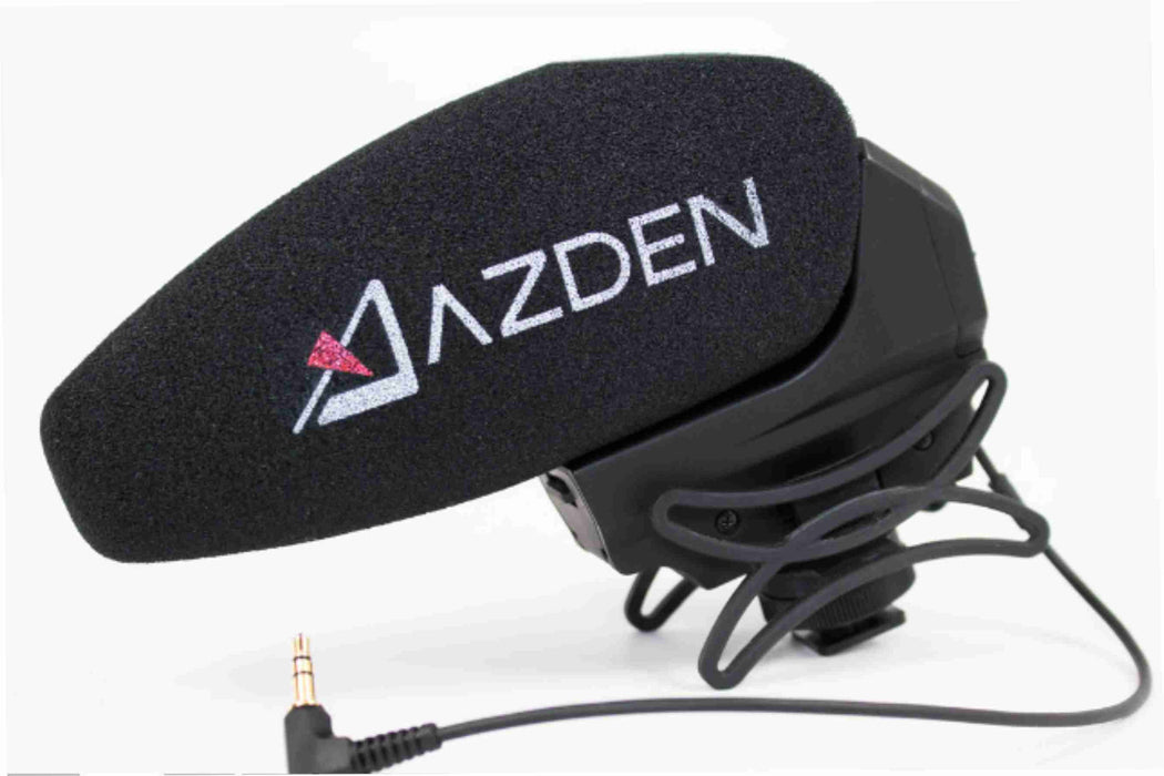 AZDEN Stereo Shotgun Microphone for DSLR