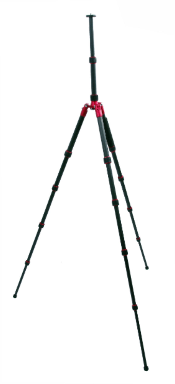 Zumm Photo Carbon Fiber Tripod with 5 Section Leg Set