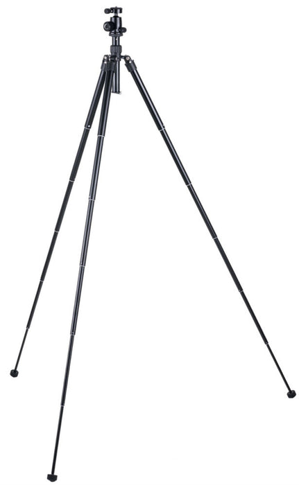 58 inch Metal Tripod with Twist Lock Legs - 6 Sections