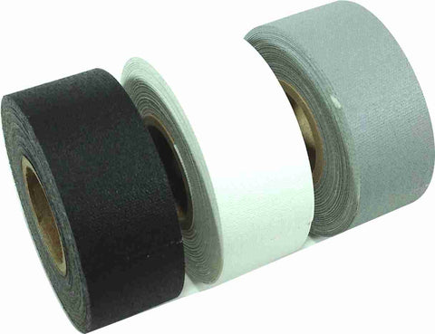 "1"" x 8 YARDS MINI ROLL GAFFERS TAPE -  SOLID COLORS - 3 Pack"