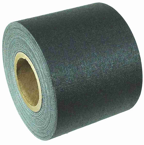 "2"" x 8 YARD MINI ROLL GAFFERS TAPE - BLACK - Single Roll"
