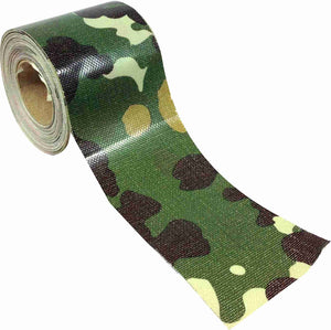 "2"" x 8 YARD MINI ROLL GAFFERS TAPE - CAMOFLAUGE - Single Rolls"