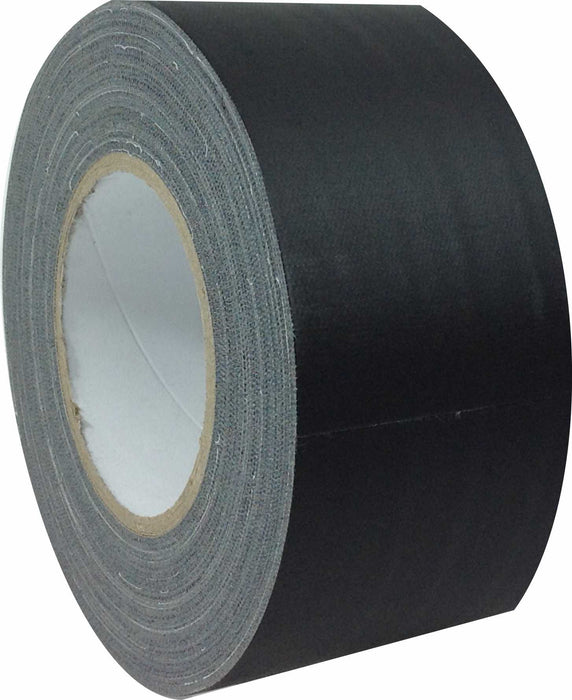 "3"" x 45 YARDS FULL ROLL GAFFERS TAPE - BLACK"