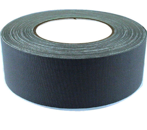 "2"" x 45 YARDS FULL ROLL GAFFERS TAPE - BLACK, WHITE or GRAY - AMERICAN RECORDER TECHNOLOGIES, INC. - 1"