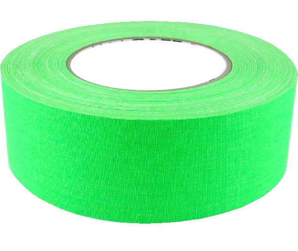 "2"" x 50 YARDS FULL ROLL GAFFERS TAPE - FLORESCENT COLORS - AMERICAN RECORDER TECHNOLOGIES, INC. - 3"