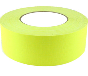 "2"" x 50 YARDS FULL ROLL GAFFERS TAPE - FLORESCENT COLORS - AMERICAN RECORDER TECHNOLOGIES, INC. - 2"