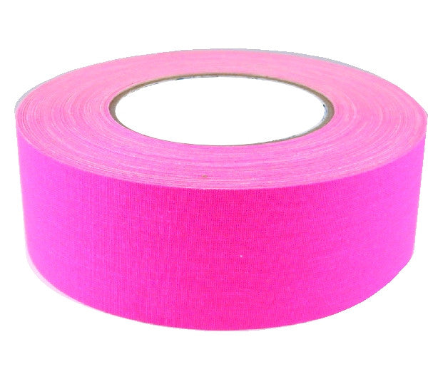 "2"" x 50 YARDS FULL ROLL GAFFERS TAPE - FLORESCENT COLORS - AMERICAN RECORDER TECHNOLOGIES, INC. - 4"